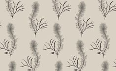 Underwater Chic: Seaweed-Printed Fabrics and Wallpapers