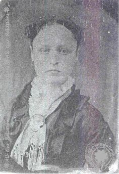 Photocopy of a tintype photo of Milley Ann McCoy Smith, child and daughter of John and Nancy Hatfield McCoy, wife of Redin Smith. hatfield and mccoy family tree. Old West Photos, Old Family Photos, Hatfield And Mccoy Feud, White Tractor, Hatfields And Mccoys, The Mccoys, Family History Book, Tintype Photos, Family Feud