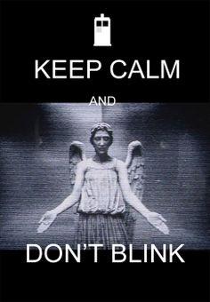 Sci-Fi Party Line News Network – Keep calm, don't Blink… by burningbeacon (via glitterdoom)