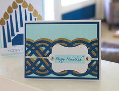 DIY Hanukkah-card www2.fiskars.com