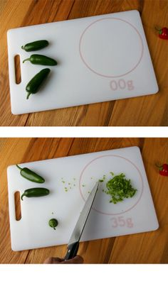 Scale cutting board. I dunno if it's real, but I want one...