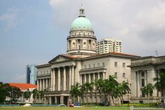 Singapore's Supreme Court/AsiaExplorers Singapore Architecture, The Headlines, Supreme Court, Human Rights, Notre Dame, Taj Mahal, Building, Travel, Viajes