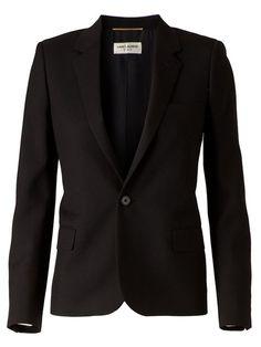 Saint Laurent single button blazer