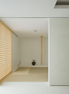 New take on Japanese room with 'tokonoma'.