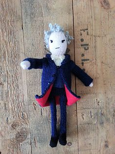 Ravelry: Peter Capaldi Doctor Who doll pattern by Nicky Fijalkowska
