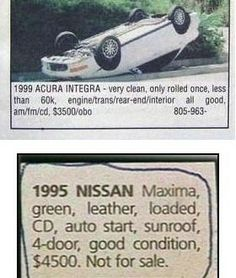 funny newspaper ads | Hd pictures And Wallpapers