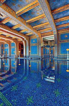 Hearst Castle. Indoor pool.