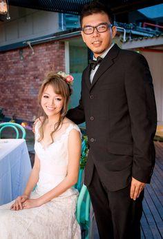 Bongqiuqiu wedding hair