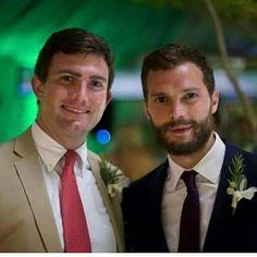 Jamie Dornan wedding friend december w 2016