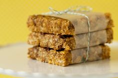Homemade Clif Bars (No-Bake!)
