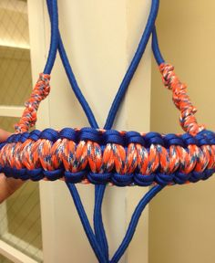 Gator color rope halter