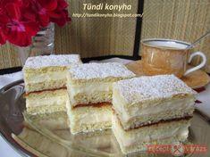 Hungarian Desserts, Hungarian Recipes, Hungarian Food, Vanilla Cake, Oreo, Drinks, Food And Drinks, Kuchen, Hungary
