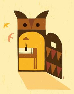 'Owl-Door' by Tomoko Suzuki