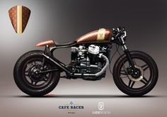 HONDA CX500 Louis Vuitton By André Costa LudeDesign Cafe Racer Portugal  #RePin by AT Social Media Marketing - Pinterest Marketing Specialists ATSocialMedia.co.uk