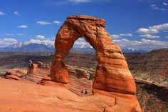 Delicate Arch, Arches Nationalpark, Moab, Utah.    SO GLAD I WENT THERE!