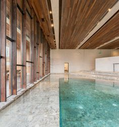 Architonic Ruff Well Water Resort by AIM Architecture