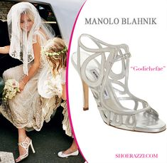 Manolo Blahnik via Shira Weinberger Bridal Fashion Guide