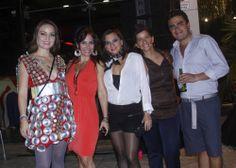 Ivone de la Cerda, Georgina Abdel Jalek, Leslie Castellano, Alba Olivera y Omar Guasso.