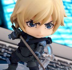 Metal Gear Solid 2 - Raiden - Nendoroid - Good Smile Company | Anime Manga Comic PVC Figur Statue SD Chibi