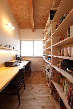 書斎: 青木昌則建築研究所が手掛けたtranslation missing: jp.style.書斎-オフィス.アジア書斎&オフィスです。