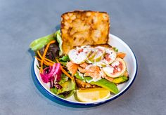 Four New Cafes To Try - Food & Drink - Broadsheet Sydney News Cafe, Picnic In The Park, Fine Dining, Salmon Burgers, Sydney, Food And Drink, Ethnic Recipes, Cafes, Salmon Patties
