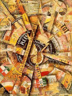 courant-peinture-futurisme réverbère (Giacomo Balla)