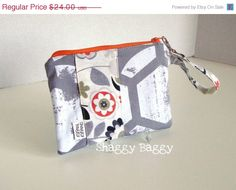 August Sale 50 Off NEW Wristlet by ShaggyBaggy on Etsy, $12.00