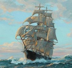 See our exciting images. Discover more about landscape art. Check the webpage to find out more. Bateau Pirate, Old Sailing Ships, Ship Paintings, Nautical Art, Nautical Tattoos, Ship Art, Tall Ships, Vincent Van Gogh, Artwork