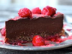 Raw Chocolate Truffle Cake