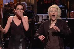 """Kristen Stewart Dropped The F-Bomb On """"SNL"""" And Kate McKinnon's Reaction Is The Best Part"""