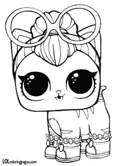 Lol Unicorn Pet Coloring Page Unicorn Lol Surprise Doll Coloring