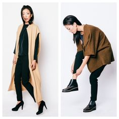 On The Penny Rose, we feature the work of clothing designer Elizabeth Suzann and her fall fashion pieces.