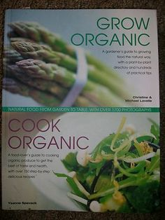 Awesome organic gardening/organic cookbook. The illustrations are plentiful and helpful with tons of great info. It takes you from seed to plate. There's not much more time and it's going off eBay auctions. 2 books in 1 and one GREAT price!!