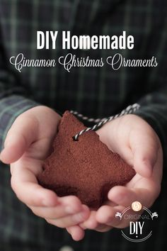 DIY Homemade Cinnamon Ornaments