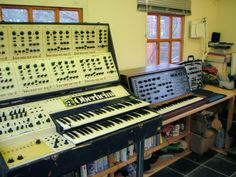 Huge Oberheim #synth. PHOTO CREDIT: RL Music