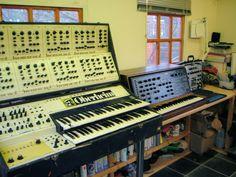 Huge Oberheim #synth.  PHOTO CREDIT: RL Music