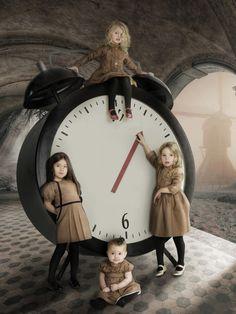 El tiempo les pertenece a ellas.
