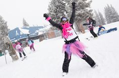 Hooray for Pink Vail! Pink Costume, Perfect Pink, Skiing, Costumes, Ski, Dress Up Clothes, Men's Costumes, Suits