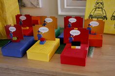 Really great Lego party Ideas-Ahem... @Diane Buck, @Clarissa Compton. Party in T minus 8 weeks for 6 kids....