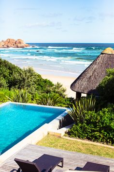 pool by the sea on Noetzie Beach, South Africa Places Around The World, Oh The Places You'll Go, Places To Travel, Places To Visit, Around The Worlds, South Africa Beach, Le Cap, Destination Voyage, To Infinity And Beyond