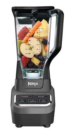 The Ninja Professional Blender  is one that has a sturdy 1000 watt motor. It offers you three different speeds – low, medium or high – and it includes the pulse ability.