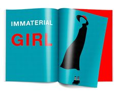 """Check out new work on my @Behance portfolio: """"Immaterial girl"""" http://be.net/gallery/57364699/Immaterial-girl"""