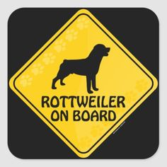 Rottweiler Xing Square Sticker   baby rottweiler puppies, rottweiler puppy german, rottweiler in snow #rottweilerlovers #rottweilervideos #rottweilersofinsta Rottweiler Quotes, Rottweiler Funny, Rottweiler Puppies, Rottweiler Training, Rottweilers, Custom Stickers, Activities For Kids, Lovers, Lol