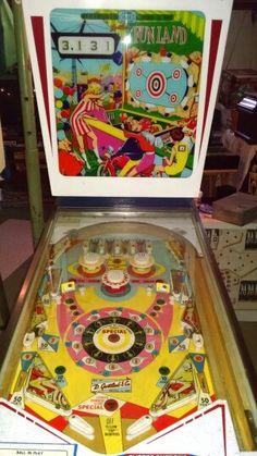 Funland Pinball Machine