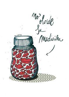 No olvide su medicina :9