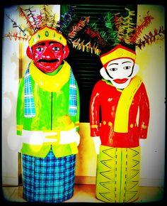 Ondel-ondel #indonesia #heritage