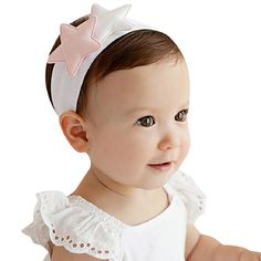 Binmer(TM)Lovely Baby Girls Headbands Star Elastic Cotton Infant Hair Band Gift for kids *** Continue to the product at the image link. (This is an affiliate link and I receive a commission for the sales)