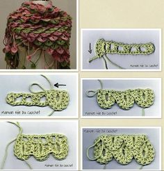crocodile stitch... must learn this!