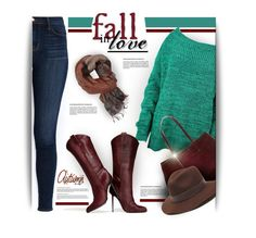 """""""Fall in Love"""" by rigginsbabygirl ❤ liked on Polyvore featuring J Brand, Banana Republic, Gottex and Etro"""