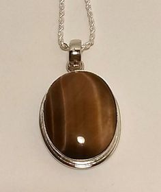 Outstanding Tiger's Eye Pendant